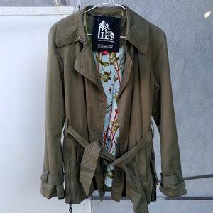 G.E.T. Green Field Chore Coat Jacket Size Small